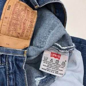 Levi's Jeans - Vintage Levi's 501 Distressed High Waist Mom Jeans